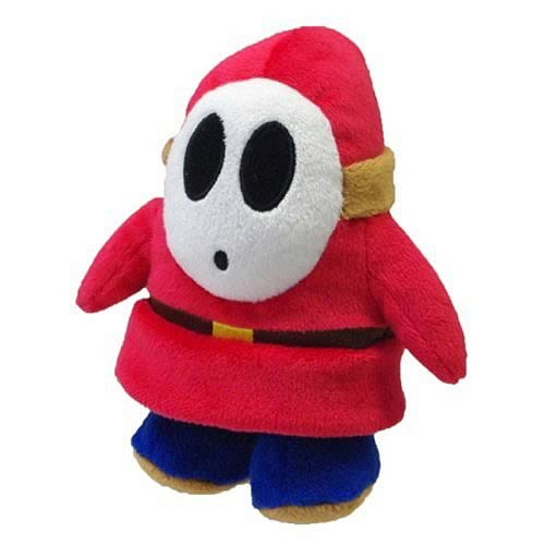 Super Mario 5-Inch Shy Guy Plush