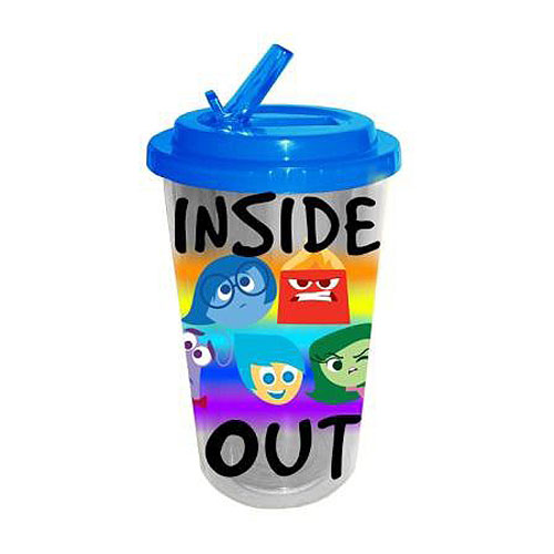 Inside Out Group 16 oz. Flip-Straw Travel Cup