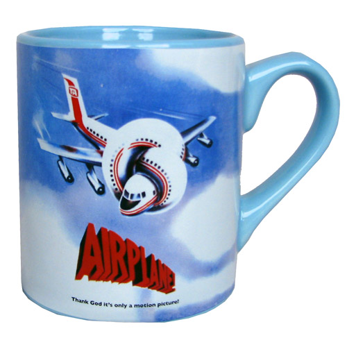 Airplane! Logo Blue Mug