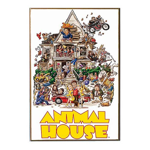 Animal House Wood Wall Art