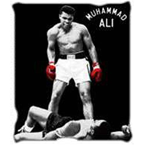 Muhammad Ali Throw Blanket