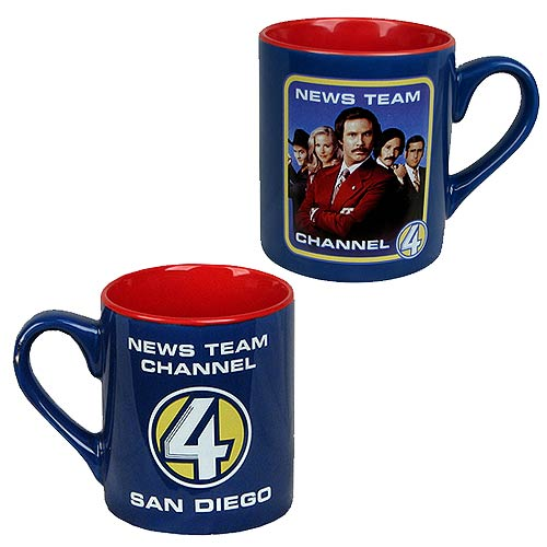 Anchorman San Diego Channel 4 News Team 14 oz. Mug
