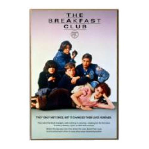 Breakfast Club Wood Wall Sign