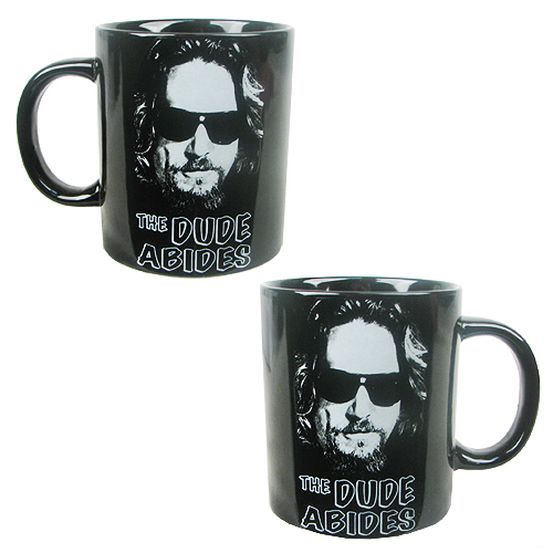 The Big Lebowski The Dude Abides 14 oz. Ceramic Mug
