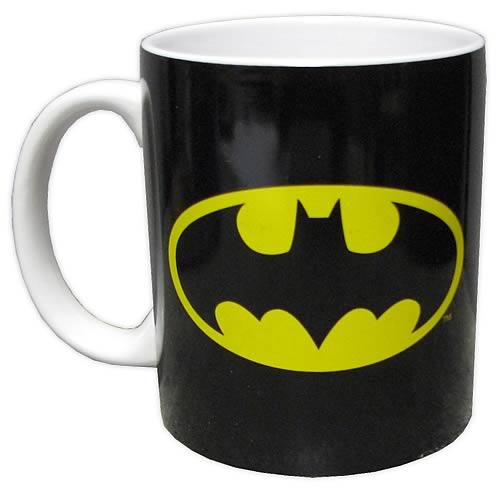 Batman Logo Black Mug