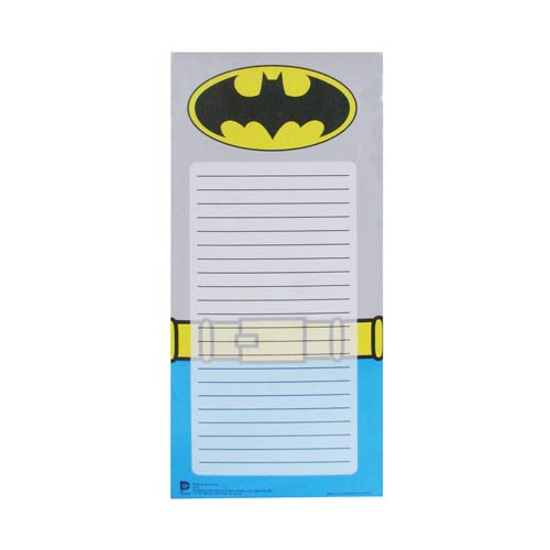 Batman Uniform Magnetic To-Do List