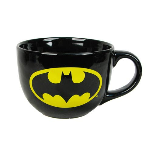 Batman Shield Logo 24 oz. Soup Mug