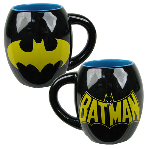 Batman Logo 18 oz. Ceramic Oval Mug