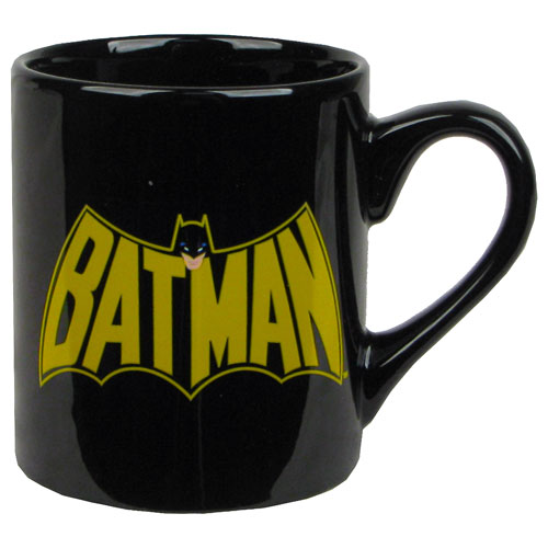 Batman Cape Logo Black 14 oz. Mug