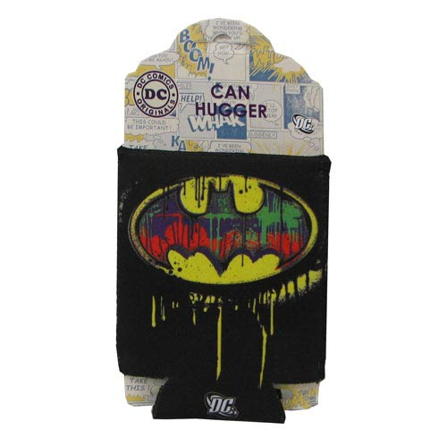 Batman Drip Logo Can Hugger