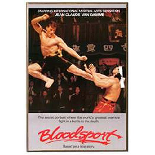 Bloodsport Wood Wall Art