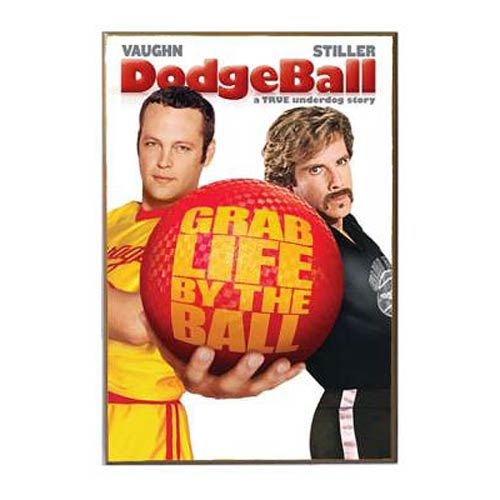 Dodgeball Poster Wood Wall Art