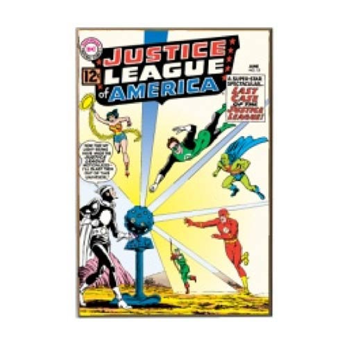 Justice League Last Case Wood Wall Sign