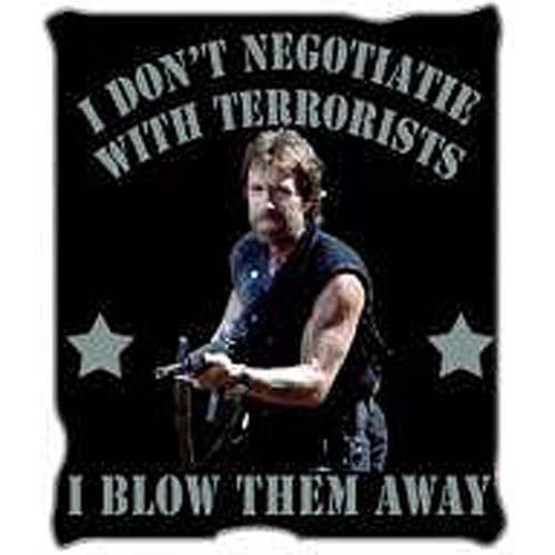 Delta Force Chuck Norris Throw Blanket