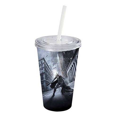 Batman Dark Knight Rises Street Plastic Cold Cup