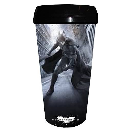 Batman Dark Knight Rises Street Plastic Travel Mug