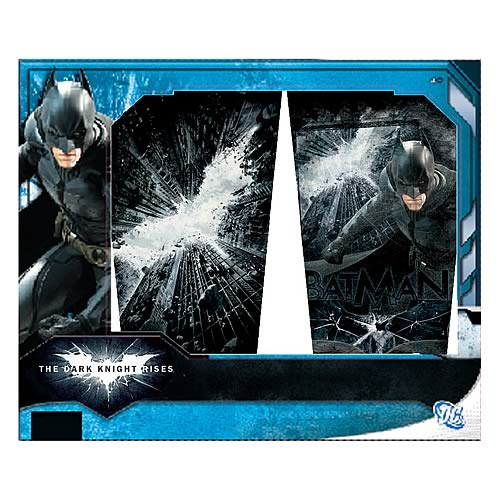 Batman Dark Knight Rises Clear Pub Glass 2-Pack
