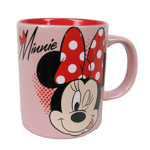 Minnie Mouse Winking Disney 14 oz. Ceramic Mug