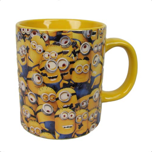 Despicable Me Cluttered Minions 14 oz. Ceramic Mug