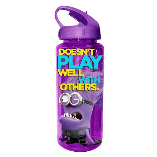 Despicable Me Angry Purple Minion 20 oz. Tritan Water Bottle