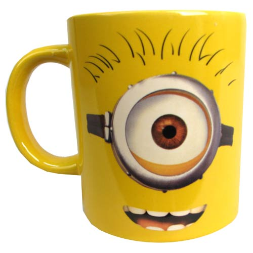 Despicable Me One Eye Minion Carl 14 oz. Ceramic Mug