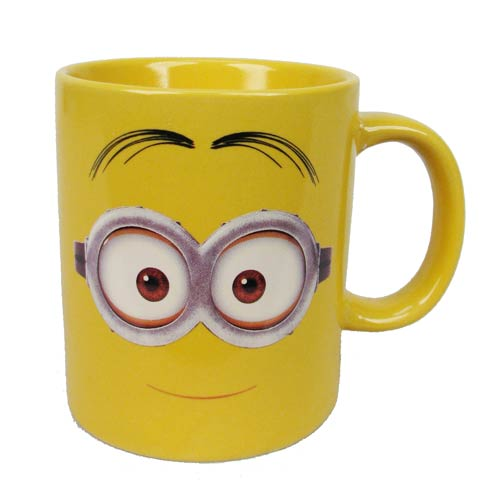 Despicable Me Two Eyed Happy Minion Dave 14 oz. Ceramic Mug