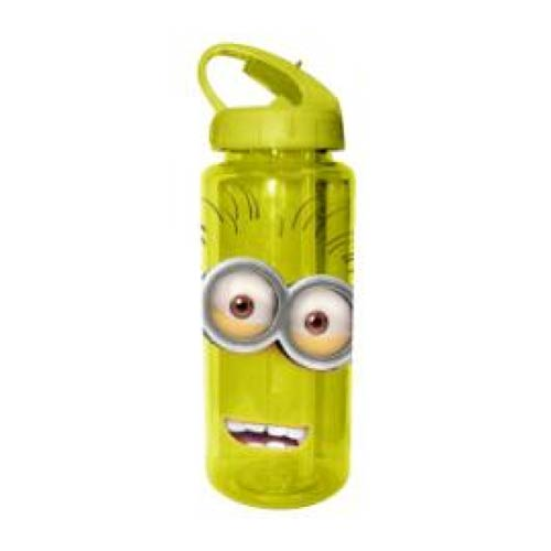 Despicable Me Two-Eyed Happy Minion Tritan Water Bottle