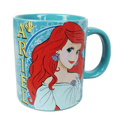 The Little Mermaid Ariel Standing 14 oz. Ceramic Mug