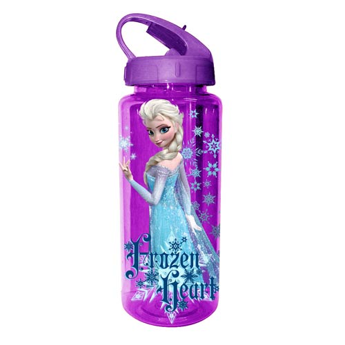 Frozen Elsa Frozen Heart 20 oz. Tritan Water Bottle
