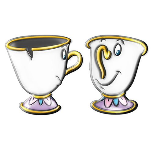 Disney Beauty and The Beast Chip 3D Sculpted Tea Cup