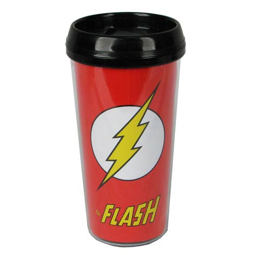 Flash Logo 16 oz. Plastic Travel Mug