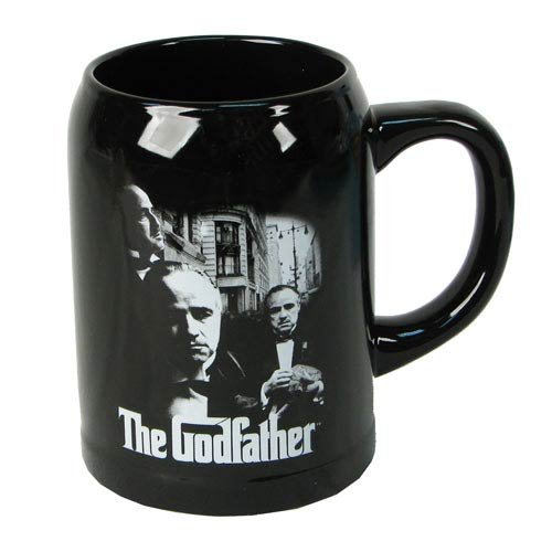 The Godfather Vito Corleone Black Ceramic Stein