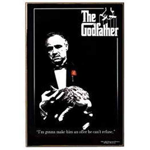 The Godfather Wood Wall Art