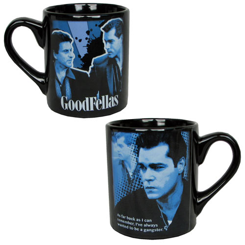 Goodfellas Henry Hill Quote Blue Mug