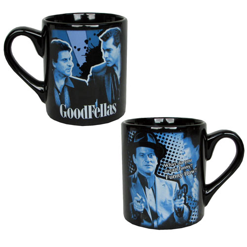 Goodfellas Tommy DeVito Quote Blue Mug