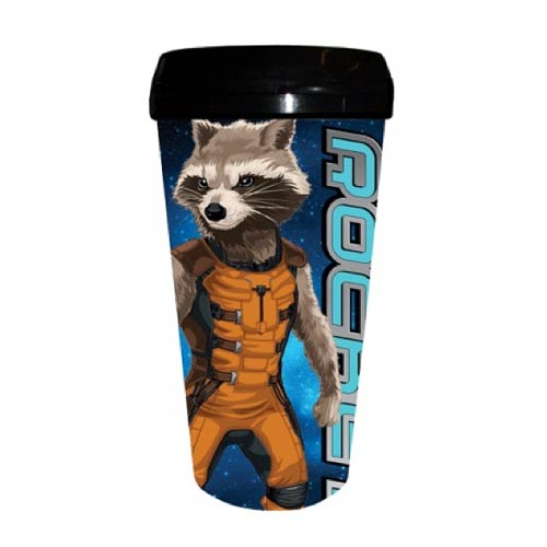 Guardians of the Galaxy Rocket Raccoon Plastic Travel Mug