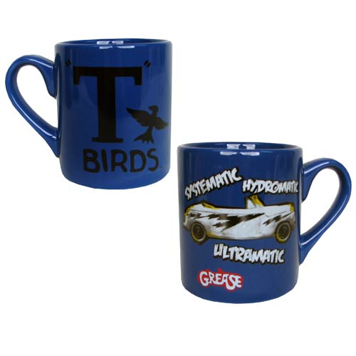 Grease T-Birds Blue Mug