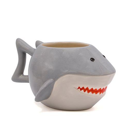 Jaws Shark Ceramic 3D Sculpted Mug