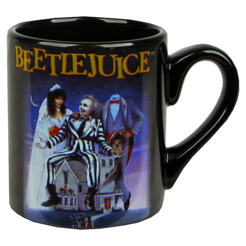 Beetlejuice Movie Poster Mug