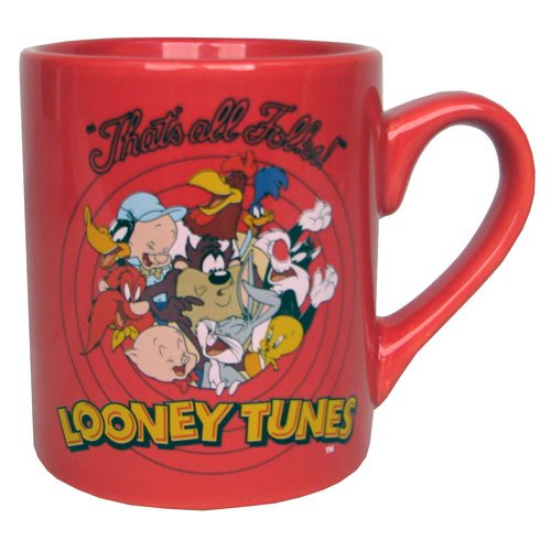 Looney Tunes Logo Red Mug