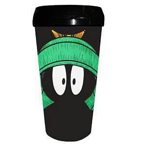 Looney Tunes Marvin the Martian Plastic Travel Mug