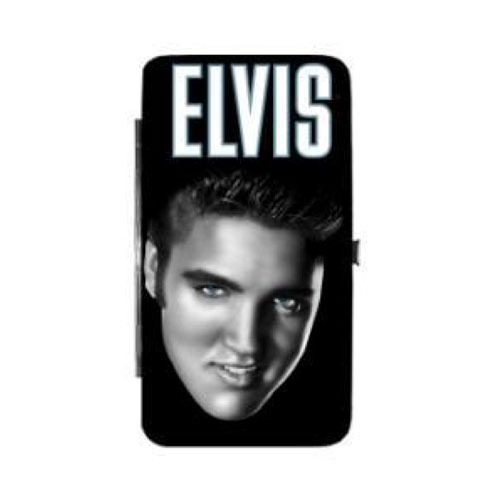 Elvis Presley Blue Eyes Hinge Wallet