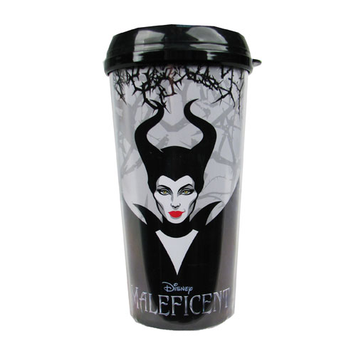 Maleficent Movie Disney 16 oz. Plastic Travel Mug