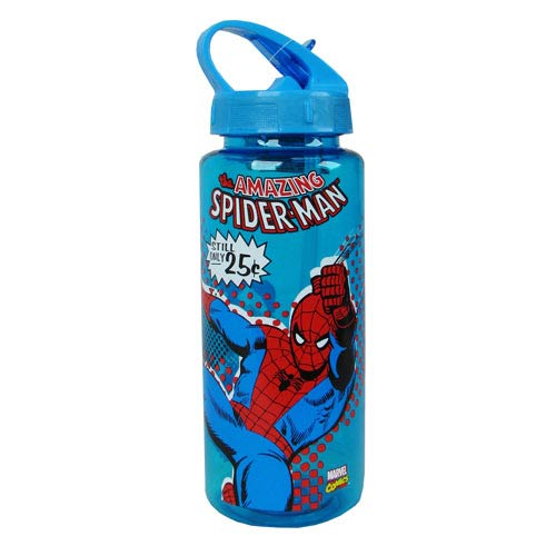 Spider-Man Web Slinger Plastic Water Bottle