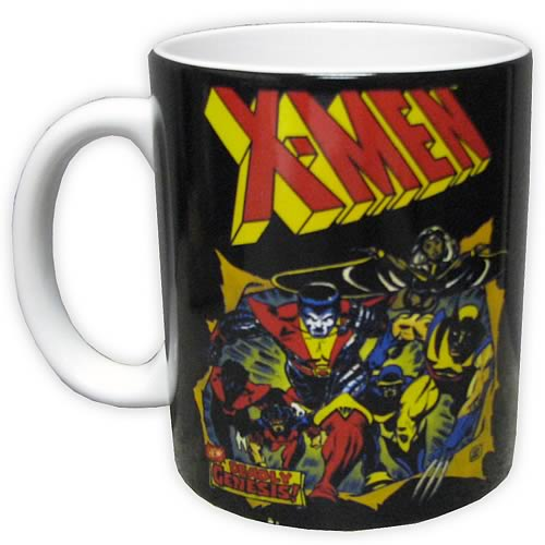 X-Men Heroes in Action Mug