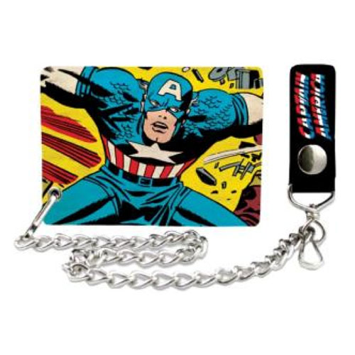 Captain America Chain Wallet