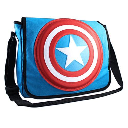 Captain America Shield Marvel Messenger Bag