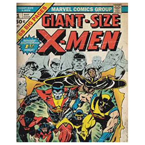 X-Men Giant Size Canvas Wall Art