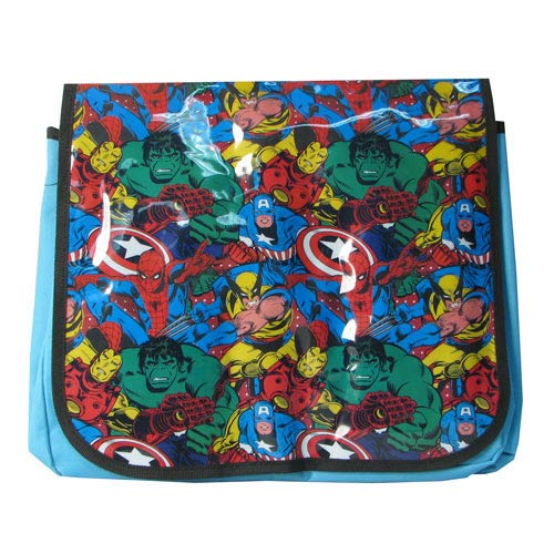 Marvel Group Shot Messenger Bag