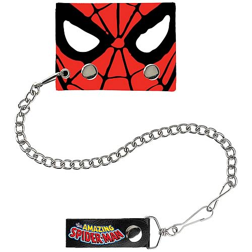 Spider-Man Mask Chain Wallet